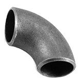 1D Elbow Buttweld Pipe Fittings, Stainless Steel, Carbon Steel