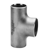 Straight Tees and Crosses Buttweld Pipe Fittings, Stainless Steel, Carbon Steel