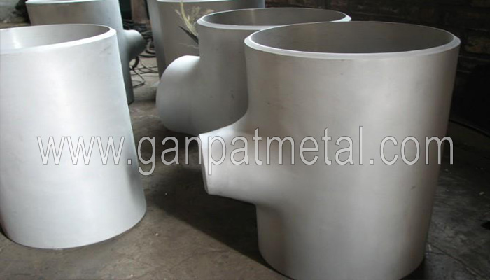 ASTM A403, 234, 182, 815 Steel Reducing tee Manufacturer/Supplier/Exporter In India