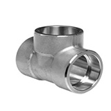 ASTM A403, 234, 182, 815 Socket Weld Equal Tee Manufacturer/Supplier/Exporter In India