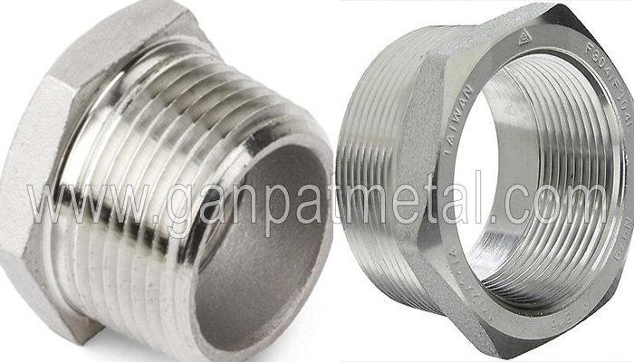 ASTM A403, 234, 182, 815 Threaded Hex Head Bushing Manufacturer/Supplier/Exporter In India