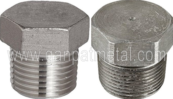 ASTM A403, 234, 182, 815 Threaded Hex Head Plug Manufacturer/Supplier/Exporter In India